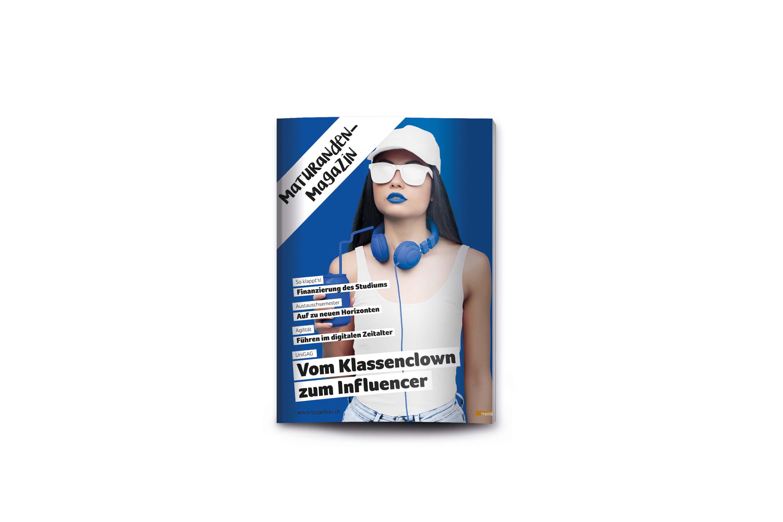 Cover mockup maturandenmagazin